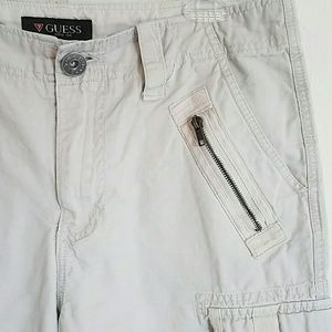 new selection new items promotion Mens Guess cargo shorts